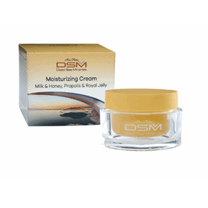 DSM Moisturizing Cream Melk & Honning 50ml