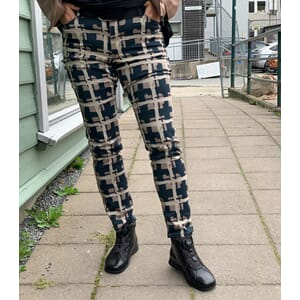 Studio Pants Printed Check