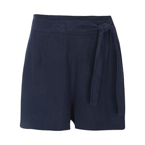 Luxzuz Lailah Lin Shorts Navy