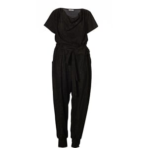 Gozzip jumpsuit black/gold