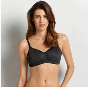 Anita Post-mastectomy bra with padded cups, black